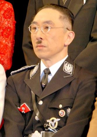 舞台『国民の映画』公開フォトコールに出席した段田安則