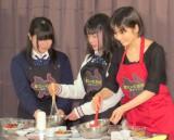 女子高生たちとチョコ作りに挑戦した小芝 (C)ORICON NewS inc.