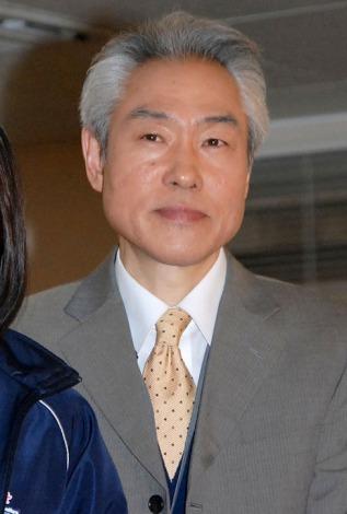 NHKドラマ10『サイレント・プア』の記者会見に出席したモロ師岡 (C)ORICON NewS inc.