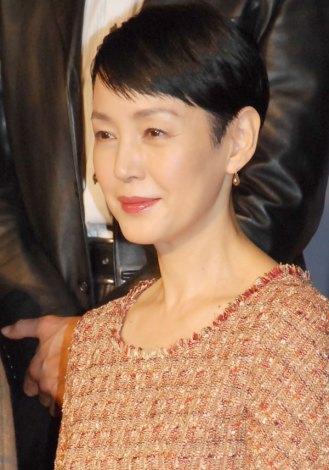 ドラマ『時は立ち止まらない』の制作発表会見に出席した樋口可南子 (C)ORICON NewS inc.