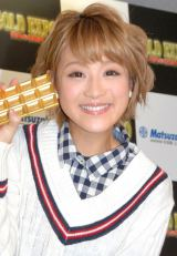 『GOLD EXPO〜黄金の世界展〜』オープニングイベントに出席した鈴木奈々 (C)ORICON NewS inc.