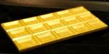 初公開された1260万円の「金の板チョコ」も初公開=『GOLD EXPO〜黄金の世界展〜』オープニングイベント (C)ORICON NewS inc.