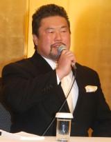 同日に都内で引退会見を行った佐々木健介 (C)ORICON NewS inc.