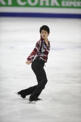 フィギュアスケート『グランプリシリーズ 2011』に出場する小塚崇彦選手
