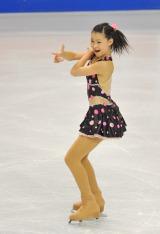 フィギュアスケート『グランプリシリーズ 2011』に出場する村上佳菜子選手