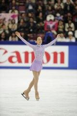 フィギュアスケート『グランプリシリーズ 2011』に出場する浅田真央選手