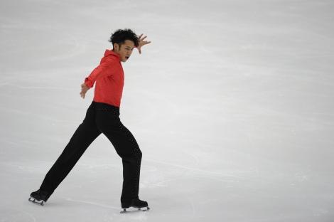 フィギュアスケート『グランプリシリーズ 2011』に出場する高橋大輔選手