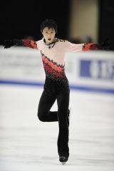 フィギュアスケート『グランプリシリーズ 2011』に出場する羽生結弦選手
