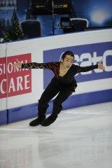 フィギュアスケート『グランプリシリーズ 2011』に出場する織田信成選手