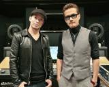 8年ぶりに2人でレコーディングした清木場俊介(左)とEXILE ATSUSHI