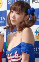 ダイエットサプリメント『スリミスタ』店頭イベントに出席したFANTA☆STARの清水あいり (C)ORICON NewS inc.