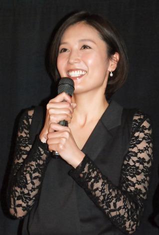 映画『愛の渦』完成披露試写会に出席した三津谷葉子 (C)ORICON NewS inc.