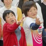 山田花子に似ていると自らアピールした杉沢毛伊子選手 (C)ORICON NewS inc.
