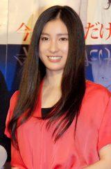 NHK BSプレミアムドラマ『今夜は心だけ抱いて』の完成記者会見に出席した土屋太鳳 (C)ORICON NewS inc.