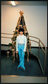著書『蒼い炎』に収録された2004年9歳のころの羽生結弦選手(自身が提供)
