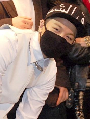 展示会『YG Exhibition In Japan』開催前日イベントにサプライズ登場したBIGBANGのSOL (C)ORICON NewS inc.