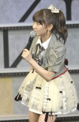 AKB48とNMB48の兼任が発表された柏木由紀=『AKB48グループ大組閣祭り』 (写真:鈴木かずなり)