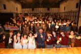 公開収録に参加した古坂大魔王、さんみゅ〜、ウェザーガールズ、アイドリング!!!、五戸美樹アナウンサー