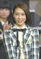 海外グループのJKT48へ移籍する近野莉菜 涙でも笑顔(写真:鈴木かずなり)