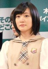 乃木坂46とAKB48の兼任が発表された生駒里奈 (C)ORICON NewS inc.