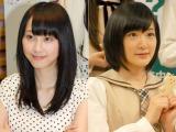 乃木坂46兼任が発表されたSKE48の松井玲奈(左)、乃木坂・生駒里奈はAKB48チームB兼任 (C)ORICON NewS inc.