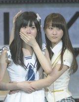 乃木坂46を兼任するSKE48の松井玲奈(右) (写真:鈴木かずなり)