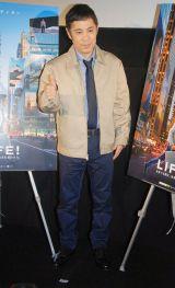 映画『LIFE!』日本語吹き替え版完成披露試写会に出席した岡村隆史 (C)ORICON NewS inc.
