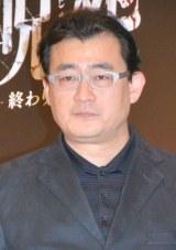 映画『呪怨-終わりの始まり-』製作発表記者会見に出席した落合正幸監督 (C)ORICON NewS inc.