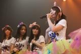 メンバーが見守るなか卒業宣言(C)NMB48