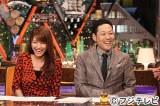 MCの東野幸治と三田友梨佳アナウンサー=フジテレビ系『ワイドナショー』4月から日曜の朝に放送枠変更