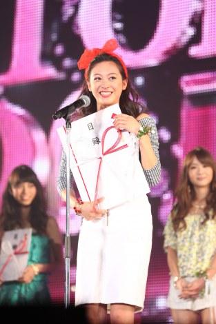 サムネイル 『Miss TGC2014』グランプリに輝いた茨城県出身の17歳・高校生、池沢美緒さん。4月期のフジテレビ系ドラマに出演も決定(C)TGC 2014S/S