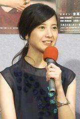連続テレビ小説『花子とアン』第1週完成試写会に出席した主演の吉高由里子 (C)ORICON NewS inc.