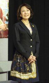 連続テレビ小説『花子とアン』で脚本を担当する中園ミホ氏 (C)ORICON NewS inc.