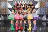 ももクロとお揃いの衣装 ミニスカのアイドル衣装も着こなす北川景子