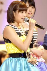 JKT48で活躍する元AKB48の仲川遥香(写真は一昨年の選抜総選挙より) (C)ORICON NewS inc.