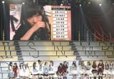 中西智代梨のAKB48チームA移籍に涙する指原莉乃 (写真:鈴木かずなり)