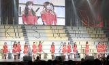 発表されたSKE48チームE=『AKB48グループ大組閣祭り』 (写真:鈴木かずなり)