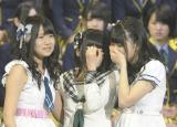 移籍に兼任発表… 戸惑い、涙するHKT48のメンバーたち (写真:鈴木かずなり)