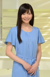 「NEWS ZERO」新お天気キャスターに大抜てきされた塩川菜摘(C)日本テレビ