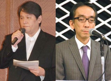 主張が食い違う両者(左から)佐村河内守氏、新垣隆氏 (C)ORICON NewS inc.