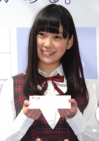 『乃木坂46 33色のラブストーリー』キャンペーンイベントに出席した堀未央奈 (C)ORICON NewS inc.