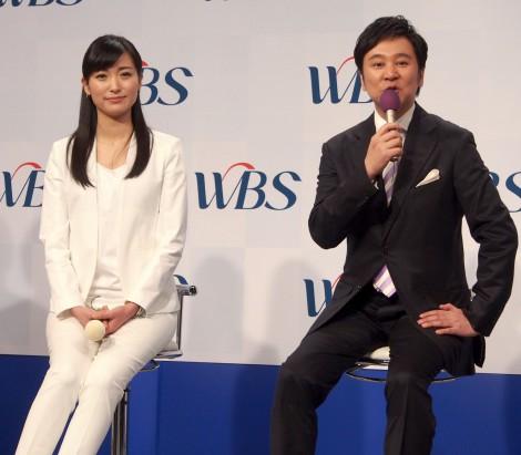 (左から)大江麻理子アナウンサー、大浜平太郎キャスター (C)ORICON NewS inc.