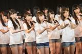 「復興支援特別公演」を行ったNMB48 (C)AKS