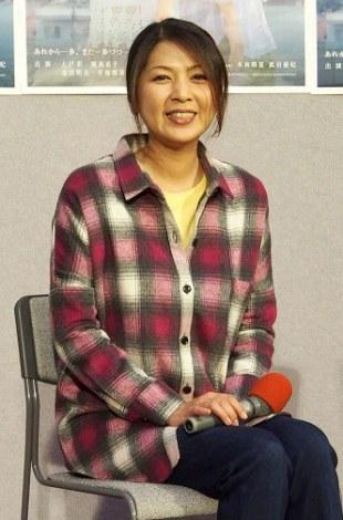 ドラマ『いつか陽のあたる場所でスペシャル』試写会に出席した飯島直子 (C)ORICON NewS inc.