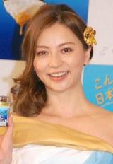 『濃密ギリシャヨーグルト PARTHENO』新CM発表会に出席した香里奈 (C)ORICON NewS inc.