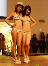 『三愛コレクション2014』で春夏ファッションを披露 (C)oricon ME inc.