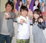 新シリーズに意気込みを語った(左から)小杉十郎太、松野太紀、中川亜紀子 (C)ORICON NewS inc.