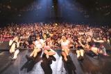 (左から)野元空(16)、林田真尋(15)、伊藤萌々香(16)、下村実生(15)、井上理香子(17)、藤田みりあ(15)