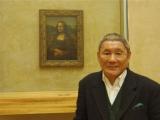 ルーヴル美術館を訪れたビートたけし(C)日本テレビ