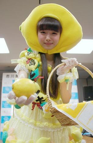 レモンをどうぞ! 『広島レモン大使』に就任した市川美織 (C)ORICON NewS inc.